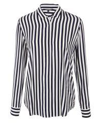 Tommy Hilfiger Black Flossie Stripe Blouse