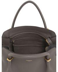 Nina Ricci | Gray Medium Marché Leather & Suede Bag | Lyst