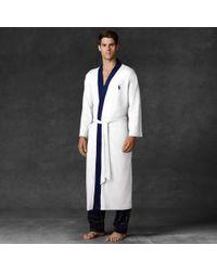 Polo Ralph Lauren - White Kimono Robe for Men - Lyst