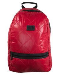 Neff - Red 'quilter' Backpack for Men - Lyst