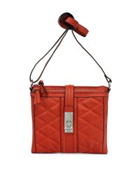 Jessica Simpson | Red Vivian Quilted Crossbody Bag | Lyst