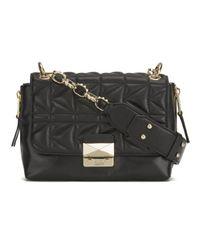Karl Lagerfeld | Metallic K/Kuilted Mini Handbag | Lyst