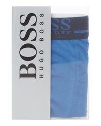 BOSS Blue Single Trunk With Side Logo for men