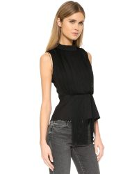 Keepsake | Black In The Moment Top | Lyst