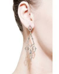 Sylva & Cie - Metallic Victorian Gold Earrings - Lyst