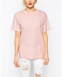 WOOD WOOD Pink Brooklyn Oversized T Shirt