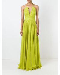 Maria Lucia Hohan Green 'alyna' Evening Dress