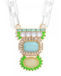 BaubleBar - Multicolor The Shoshanna Amulet-Neon - Lyst