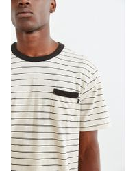 Obey | Gray Ponzi Pocket Tee for Men | Lyst