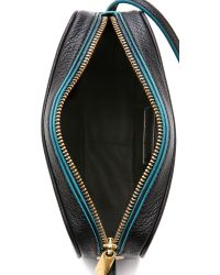 Marc By Marc Jacobs Blue Solid Sally Bag - Black