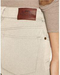 Lauren by Ralph Lauren - Natural Petite Heritage Straight Jean - Lyst