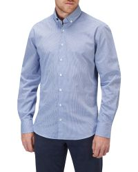 Skopes Blue Contemporary Collection Formal Shirt for men