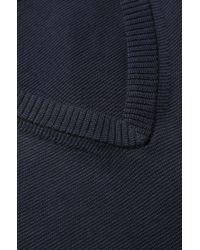 HUGO | Blue Cotton Sweater 'sofanor' for Men | Lyst