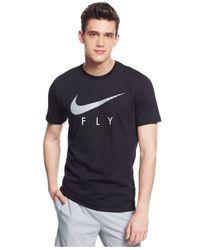Nike | Black Sgx Fly Dri-fit T-shirt for Men | Lyst