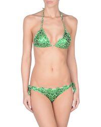 Just Cavalli - Green Bikini - Lyst