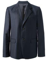 A.P.C. Blue Suit Jacket for men