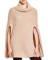 Pink Pony - Natural Lauren Waffle Capelet - Lyst