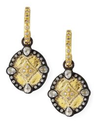 Armenta - Multicolor Shield Drop Earrings - Lyst