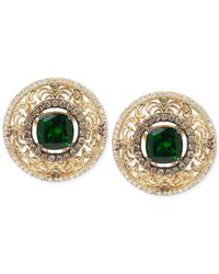 Le Vian | Metallic Chrome Diopside (2-1/2 Ct. T.w.) And Diamond (9/10 Ct. T.w.) Earrings In 14k Gold | Lyst