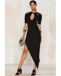 Nightwalker | Black Justify Maxi Dress | Lyst