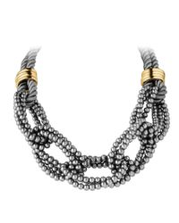 Dyrberg/Kern | Gray Behar Necklace | Lyst