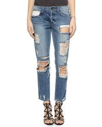Siwy Blue Joan Slouchy Straight Jeans - Rapture