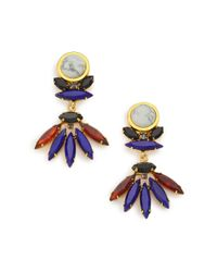 Lizzie Fortunato | Multicolor Casa Azul Howlite Drop Earrings | Lyst