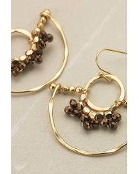 Anthropologie | Metallic Celestial Beaded Earrings | Lyst