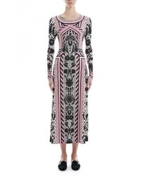 Temperley London | Red Long Tishka Jersey Dress | Lyst