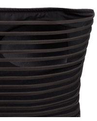 H&M Black Bandeau Swimsuit