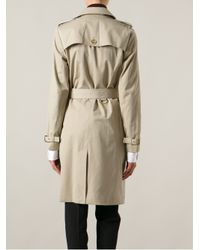 MICHAEL Michael Kors Natural Double Breasted Trench Coat