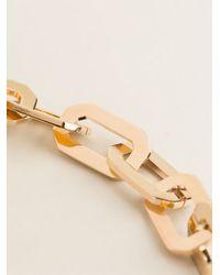 DSquared² Metallic Geometric Necklace