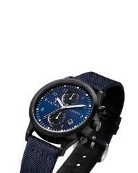 Triwa Blue 'dusk Lansen Chrono' Watch