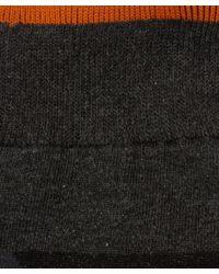 Nudie Jeans | Gray Grey Melange Zoom Socks for Men | Lyst