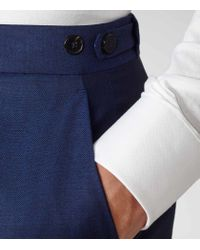 Reiss | Blue Menenzies T Slim-fit Trousers for Men | Lyst