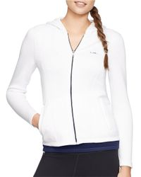 Lauren by Ralph Lauren White Malisee Fitted Jacket