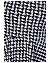 Missguided - Black Bechtolda Dogtooth Print Skater Dress - Lyst