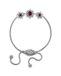 David Yurman - Metallic Starburst Three-station Bracelet - Lyst