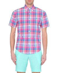 Ralph Lauren | Blue Checked Slim-fit Shirt for Men | Lyst
