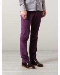 Etro - Purple Cuba Trousers for Men - Lyst