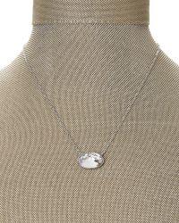 Swarovski - Metallic Silver-Tone Statement Crystal Necklace - Lyst