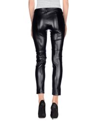 Patrizia Pepe | Black Casual Pants | Lyst