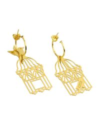 Loroetu - Metallic Earrings - Lyst