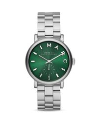 Marc By Marc Jacobs | Green Baker Watch, 36mm | Lyst