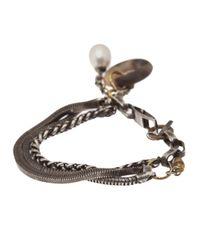Beth Orduna - Metallic Multichain Bracelet - Lyst