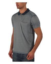 Bench - Blue Peater Plain Regular Fit Polo Shirt for Men - Lyst