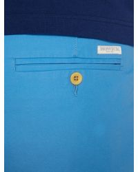Howick | Blue Flat Front Shorts for Men | Lyst