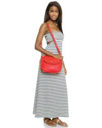 kate spade new york - Red Cami Cross Body Bag - Mulled Wine - Lyst