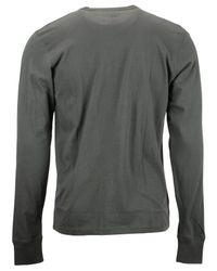 47 Brand - Gray Men'S Long-Sleeve Seattle Supersonics Flanker T-Shirt for Men - Lyst