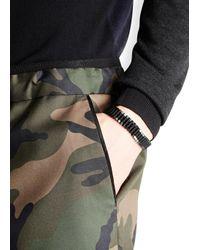 Vitaly Arma Black Stainless Steel Link Bracelet for men